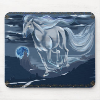 Ghost Horse Mousepad