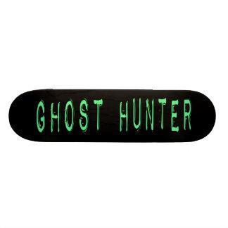 Ghost Hunter - Black Background Skate Board