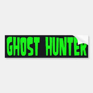 Ghost Hunter Car Bumper Sticker