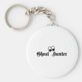 Ghost Hunter Eyes Basic Round Button Key Ring