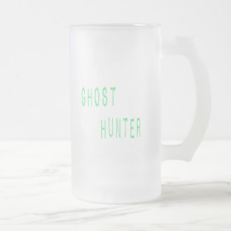Ghost Hunter Frosted Glass Beer Mug