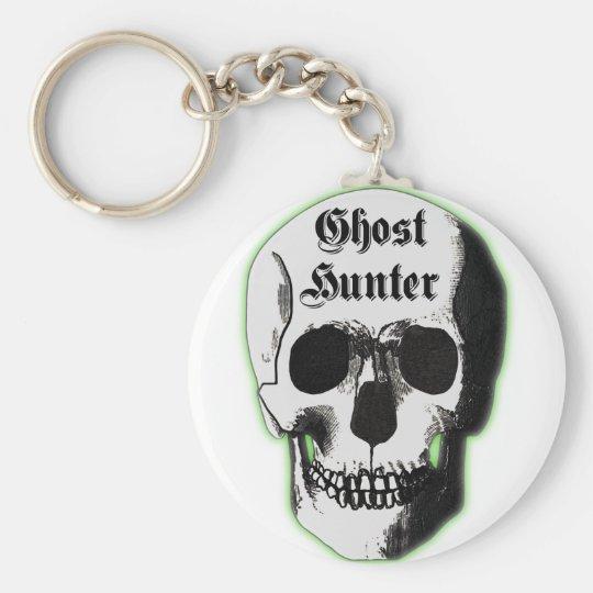 Ghost Hunter Skull Key Ring