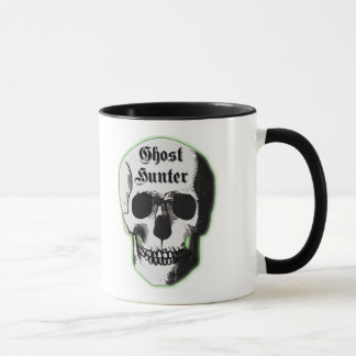 Ghost Hunter Skull Mug