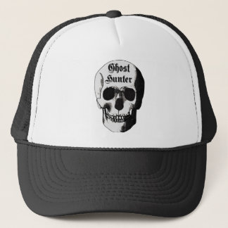 Ghost Hunter Skull Trucker Hat