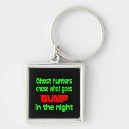 Ghost Hunters Chase What Goes Bump Key Chain