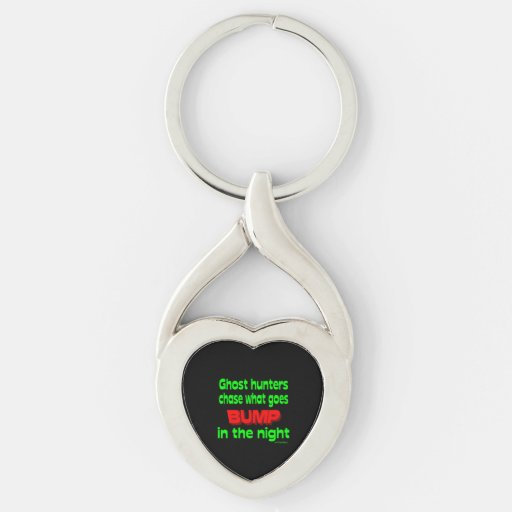 Ghost Hunters Chase What Goes Bump Keychain
