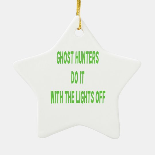 Ghost Hunters Do It Christmas Ornament