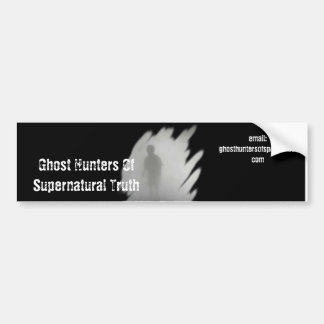 Ghost Hunters Of Supernatural Truth BumperSticker Bumper Stickers