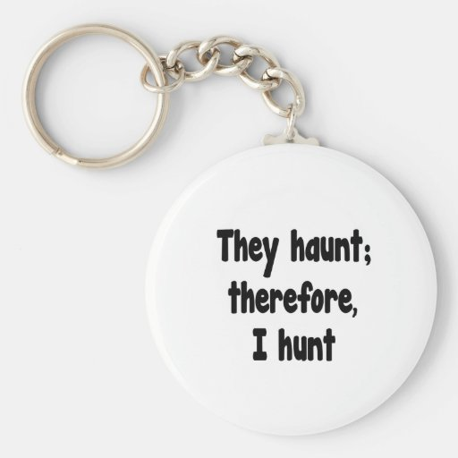 Ghost Hunter's Philosophy Keychains