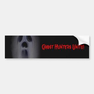 Ghost Hunters Unite Bumper Sticker