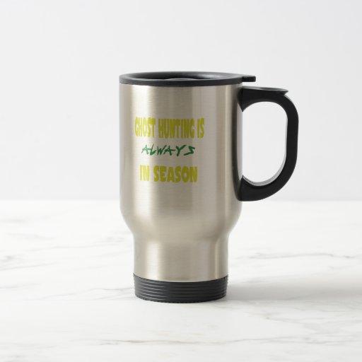 Ghost Hunting Season Mugs