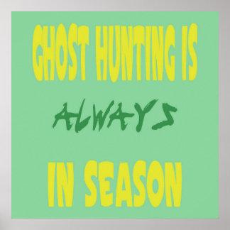 Ghost Hunting Season Posters