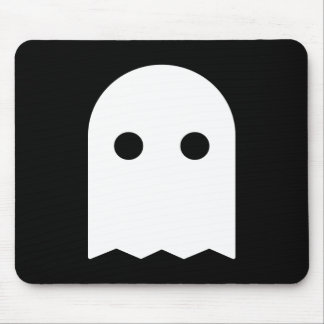Ghost Icon Mouse Pad