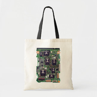 Ghost in the Circuit Tote Bag