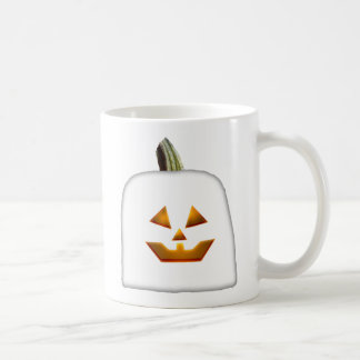 Ghost Jack O' Lantern Basic White Mug
