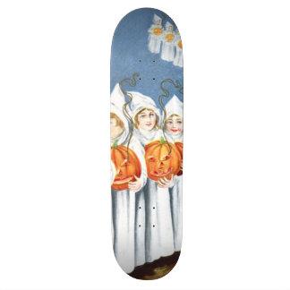 Ghost Jack O Lantern Pumpkin Costume Skate Board Deck