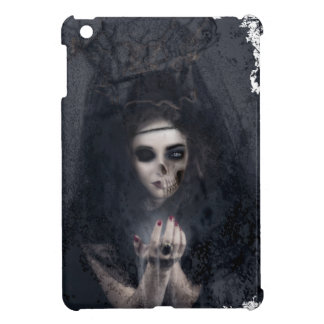 Ghost Lady Haunting Skull Skeleton Cover For The iPad Mini