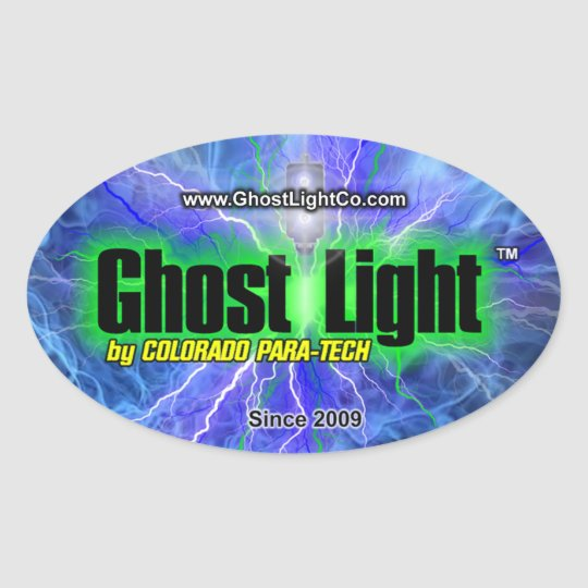 Ghost Light™ Oval Sticker #1