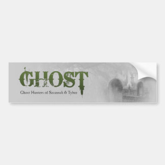 GHOST Logo Bumper Sticker