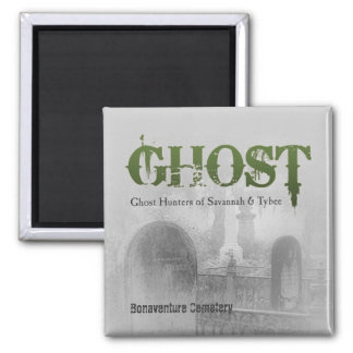 GHOST Logo Square Magnet