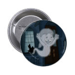Ghost Lucy Pinback Buttons
