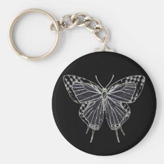 Ghost Moth Keychain