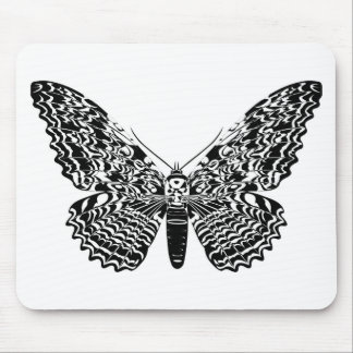 Ghost moth mouse mat