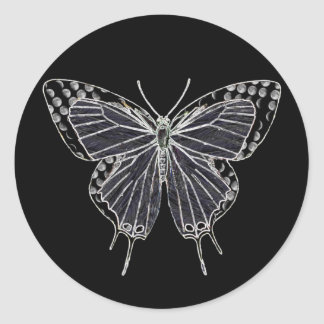 Ghost Moth Sticker