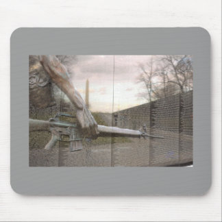 Ghost Night Watchman Mouse Pad