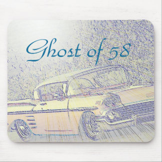 Ghost of 58 mouse pad