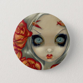 """""""Ghost of a Rose"""" Button"""