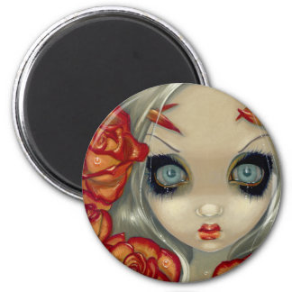 """Ghost of a Rose"" Magnet"