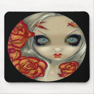 """""""Ghost of a Rose"""" Mousepad"""