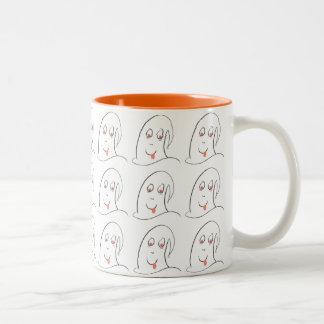 Ghost of Ban the Bomb Mug