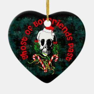 Ghost of Boyfriends Past Ceramic Heart Decoration
