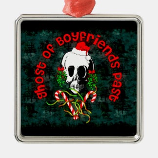 Ghost of Boyfriends Past Christmas Ornaments