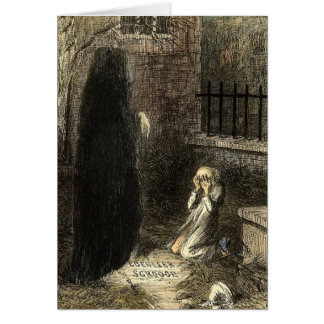 Ghost of Christmas Future A Christmas Carol Card