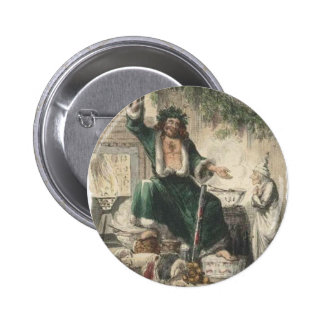 Ghost of Christmas Present 6 Cm Round Badge