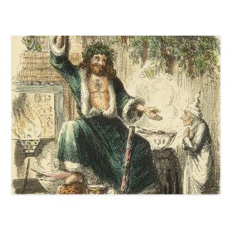 Ghost of Christmas Present Postcard