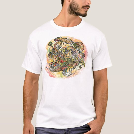 Ghost of the mushrooms - t-shirt
