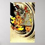 Ghost of Warrior Tomomori 1880 Poster