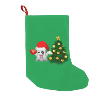 Ghost of whatsapp Merry Christmas Small Christmas Stocking