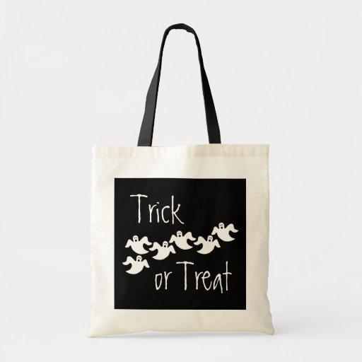 Ghost Party Halloween Bag, Black