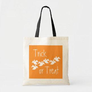 Ghost Party Halloween Bag, Orange