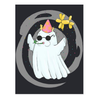 Ghost Party Postcard