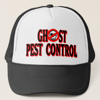 Ghost Pest Control Trucker Hat