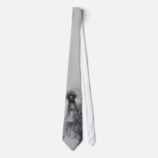 Ghost Pirate Tie