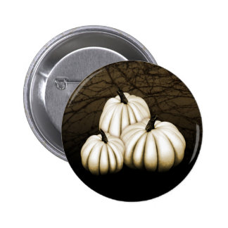 Ghost Pumpkins 6 Cm Round Badge