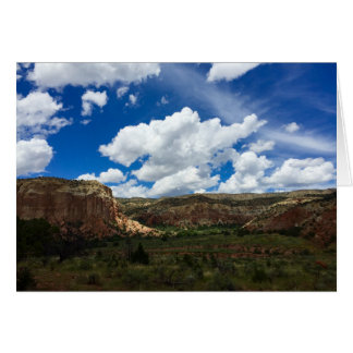 Ghost Ranch, Abiquiu, NM Greeting Card