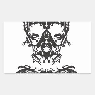 Ghost Rectangular Sticker